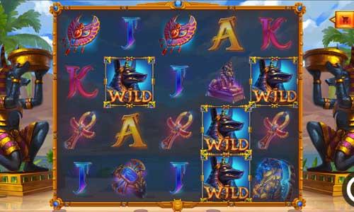 battle maidens cleopatra slot screen