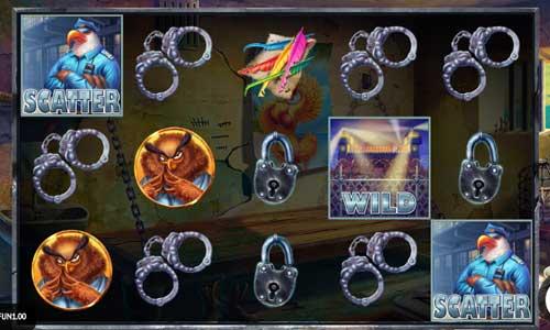 prison escape slot screen