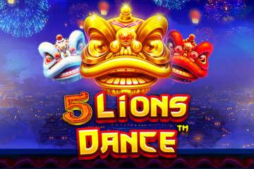 5 Lions Dance Slot Game