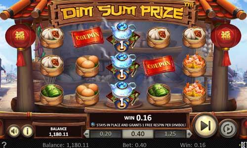 dim sum prize slot screen
