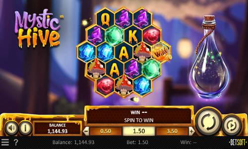 mystic hive slot screen