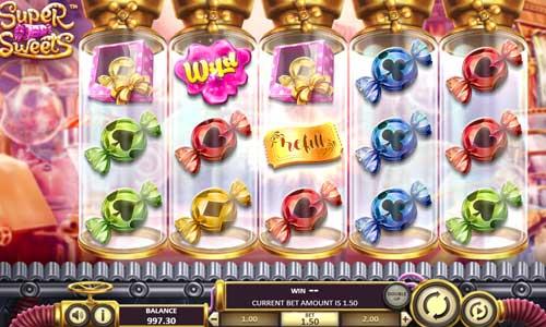 super sweets slot screen