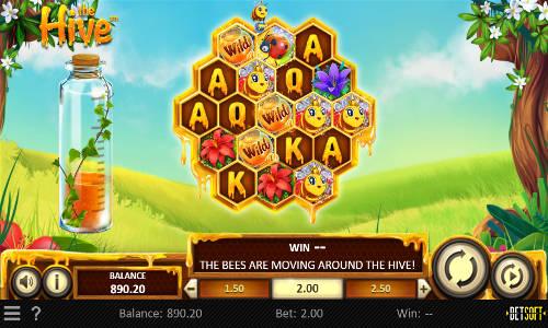 the hive slot screen