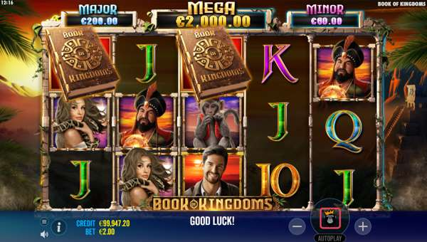 book of kingdoms slot screen