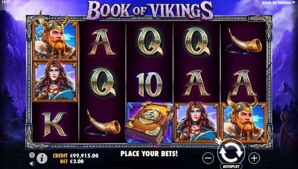 book of vikings slot screen