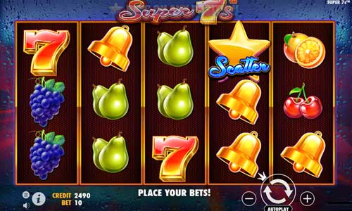 super 7s slot screen