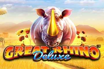 Great Rhino Deluxe Slot Game