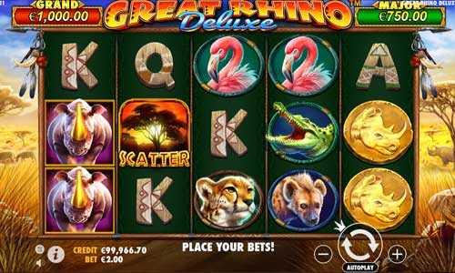 great rhino deluxe slot screen