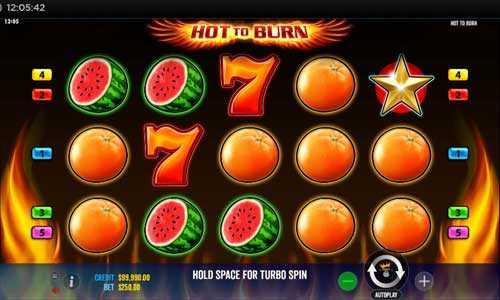 hot to burn slot screen