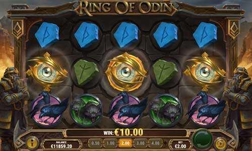 ring of odin slot screen
