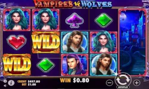 vampires vs wolves slot screen