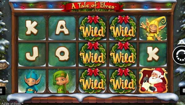 a tale of elves slot screen