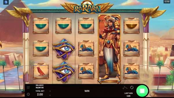 rarara slot screen