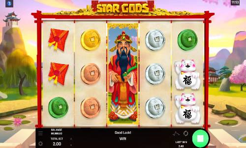 star gods slot screen