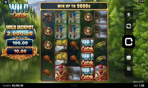 wild catch slot screen 2