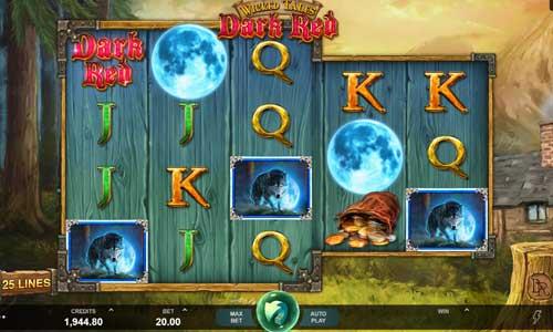 wicked tales dark red slot screen